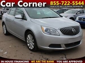 2014 Buick Verano - LEATHER/HANDS-FREE/FUEL EFFICIENT/VALUEPRICE