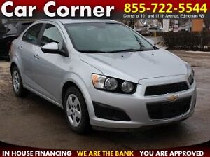2014 Chevrolet Sonic LT BACKUPCAM/BLUETOOTH/FACTORY WARRANTY!