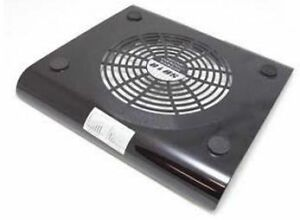 laptop cooler with 1 big fan, up to 15in