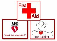 First Aid Training with Magnified Training Services in Lacombe