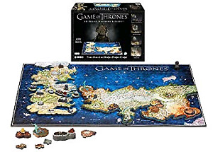 Game of Thrones 4D puzzle  891 pieces