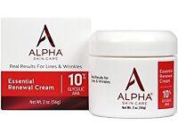 Alpha Essential Renewal Cream 10% Gycolic Alpha Hydroxy Acid