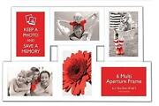 Multi Aperture Photo Frame 6x4
