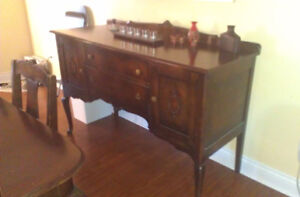 Antique Knetchel Dining Set plus China Cabinet and Cuttlery Desk Gatineau Ottawa / Gatineau Area image 2