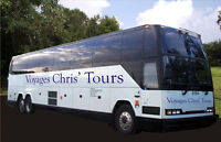 Voyages Chris' Tours 2015/16  DELUXE MOTORCOACH TRIP SCHEDULES