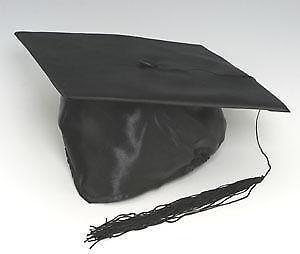 Black Graduation Cap  Clothing e78f2b20680