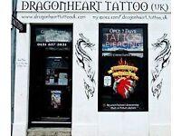 Tattoo Studio Receptionist/Body Piercer