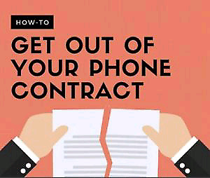 TAKE OVER OR CANCEL YOUR CELL CONTRACT KEEP YOUR PHONE
