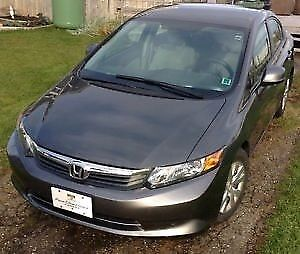 2012 Honda Civic LX low km! Auto Air Cruise nonsmoker