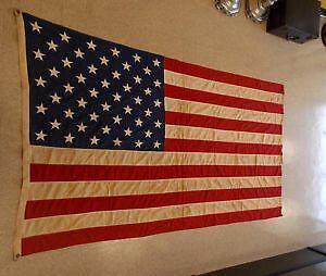 Vintage 50 Star American Flag