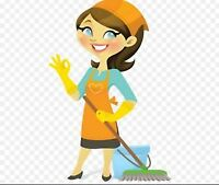 Cleaning lady-$15/hr