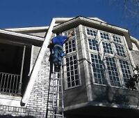 Christmas Light Removal, Painting, Eavestrough/Window Cleaning