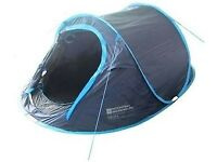 NEW Pop Up Double Skin 3 Man Tent Original Price £99.99