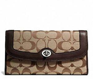 coach bag usa outlet fpf9  Women s Coach Trifold Wallet