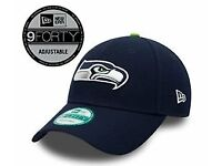 New Era 9FORTY NFL Seattle Seahawks Strapback Cap *£10* Brand New