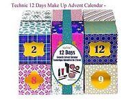 New Technic 12 Days Of Christmas Make Up Beauty Advent Calendar