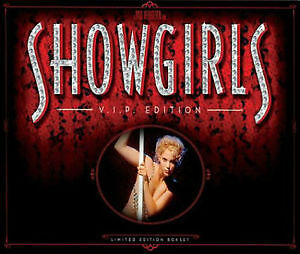 SHOWGIRLS (V.I.P. Edition) DVD Set - NEW & FACTORY SEALED.