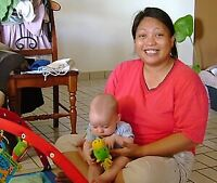 Need a Filipino nanny to work five hours a day five days a week