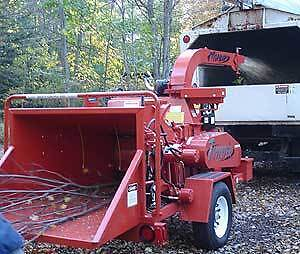 "10"" Woodchipper Moorbark Twister"