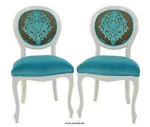 Nice Pair French Chairs