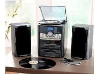 NeoStar compact stereo music system with encoding