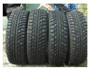 4 snow tires on steel rims from 2015 Camrey