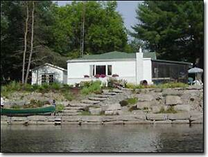 Rent a cottage on the Burnt River in the Kawarthas