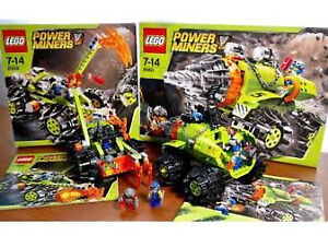 2 Lego Power Miner Sets 8959 and 8960