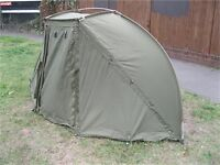 FOX EVO EVOLUTION BIVVY TENT DOME + WINTER SKIN COVER - WAS NEAR £500 TOTAL - JUST £165