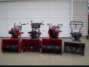 Good used snowblowers-can deliver
