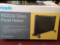 1500w glass panel heater