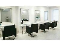 Desk reception counter white gloss salon Furniture
