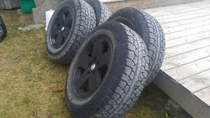 255 70 R18  Rugged Terrain T/A Tires (Jeep)