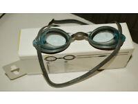 Used grey goggle
