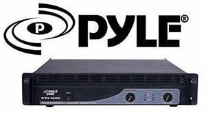 NEW PYLE 1400w POWER AMPLIFIER   Electronics › Audio Home Theatre › DJ Equipment  85267425