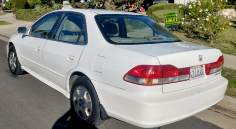 2002 Honda Accord  2002 Honda Accord EX