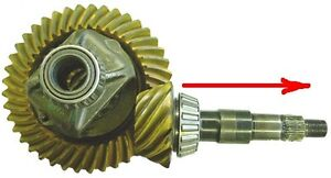 7.5 inch gears and carrier