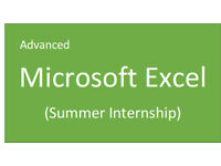 IT Support - Advanced Excel project planning (summer intern)