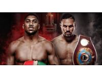 Anthony Joshua vs joseph Parker tickets.. Available