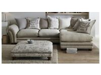 DFS grey corner sofa MUST GO BEFORE 31ST MAY