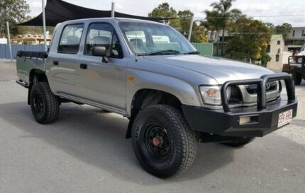 2003 Toyota Hilux KZN165R (4x4) 5 Speed Manual Dual Cab Chassis Burleigh Heads Gold Coast South Preview