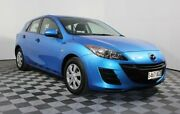 2010 Mazda 3 BL10F1 Neo Blue 6 Speed Manual Hatchback Edwardstown Marion Area Preview