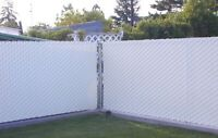 Chain link privacy slats