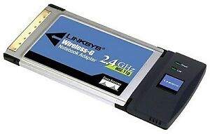 Cisco - Linksys Wireless-G Notebook Adapter 2.4GHz 54Mbps