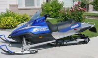 Snowmobile/tilt trailer.. Trade for inclosed work trailer