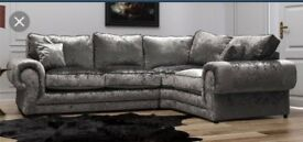 stunning Scs sofa with FREE FOOTSTOOL ##