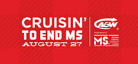 Volunteers needed for Cruisng to End MS on Thursday Aug 27!