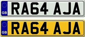 RAJA OR RAJAH a very rare and unique private number plate for sale