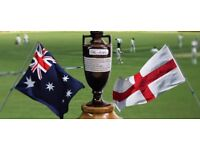 Ashes cricket tickets for sale - Adelaide, Melbourne & Sydney tests