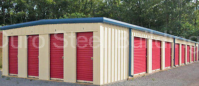 Duro Steel Mini Self Storage 20x120x8.5 Metal Building Prefab Structures Direct
